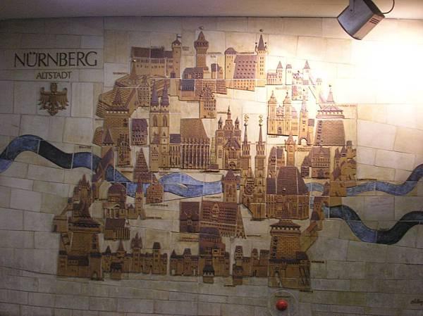 紐倫堡 1 老城圖