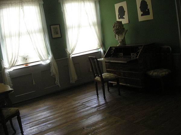 法蘭克福 2 歌德書桌
