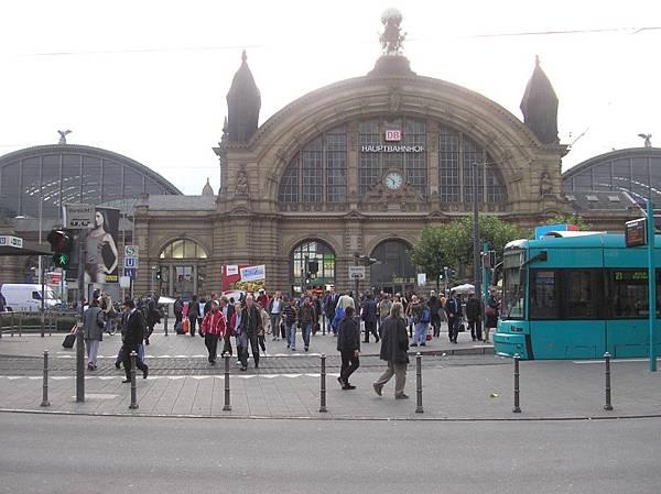 法蘭克福 15 火車總站