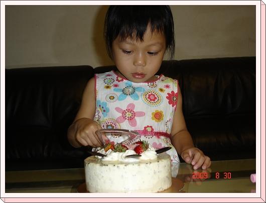 要~切蛋糕了