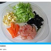 海苔雞肉蔬菜粥-2