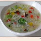甜椒蔬菜粥-6