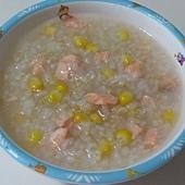 鮭魚玉米糙米粥-2