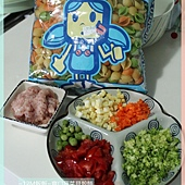 爽口蔬菜貝殼麵 (1)