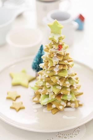 抹茶星星聖誕樹