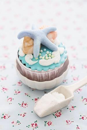 夏日風翻糖蛋糕