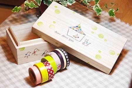 紙膠帶木盒
