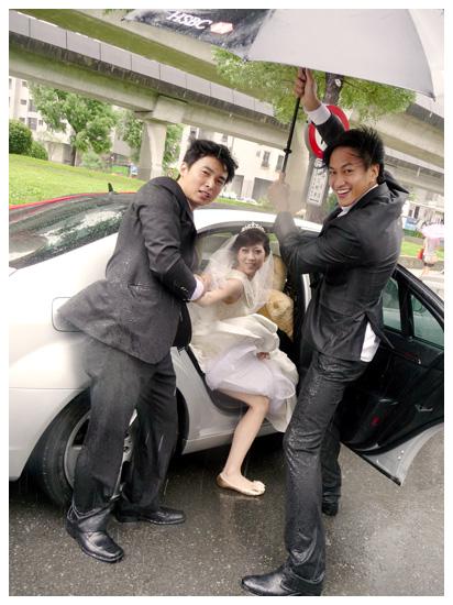 颱風天婚禮