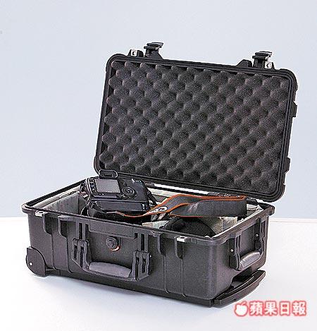 保護相機的箱子