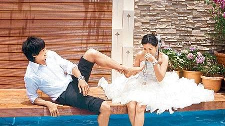 Peter和怡蓉拍婚紗搞笑