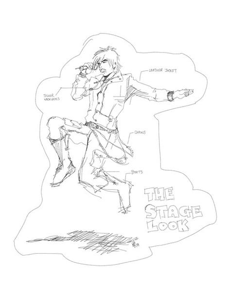 Stage 手繪漫畫造型圖