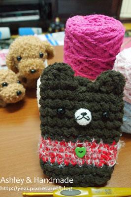 熊熊 手機套
