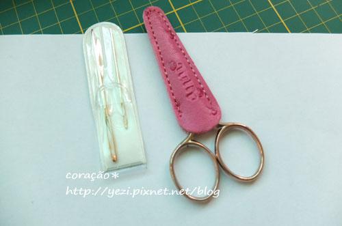 ETIMO鉤針--剪刀、針