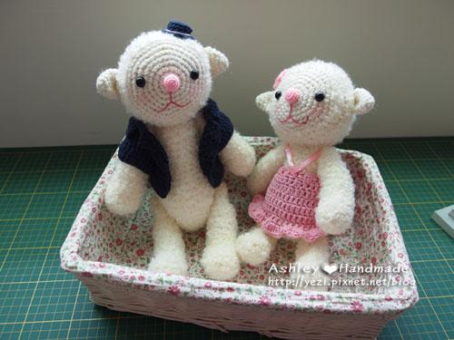 毛線娃娃~羊咩咩~情侶