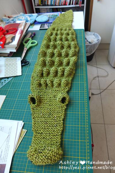 鱷魚圍巾~