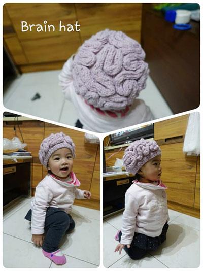 brain hat 大腦帽