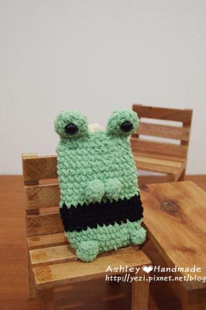 青蛙手機袋