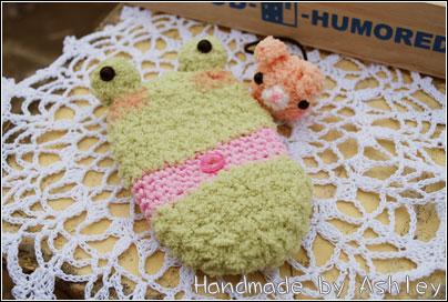 青蛙手機套