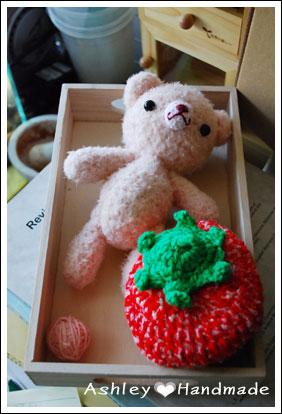芭比小粉+草莓帽