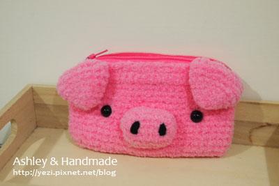 粉紅豬零錢包