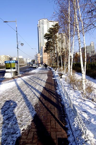 喜歡白白淨淨的街景