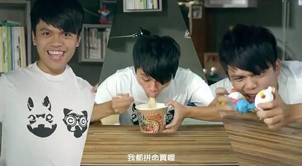 蔡阿嘎X藏鏡人。中華郵政電視廣告CF