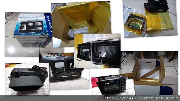 相機潛水盒開箱
