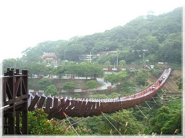 雨天的白石湖吊橋_050