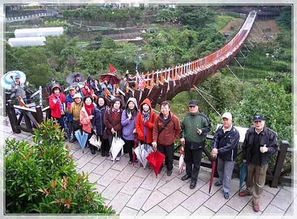 雨天的白石湖吊橋_001