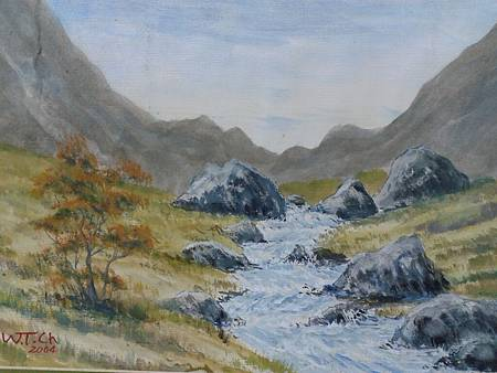 老大的水彩畫