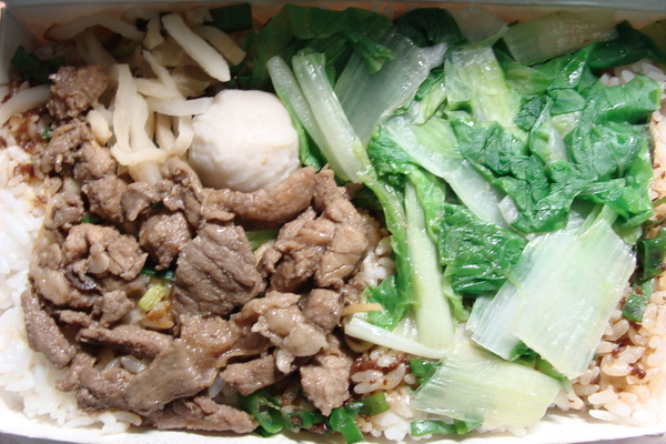 斗六外省麵-滷香肉絲飯