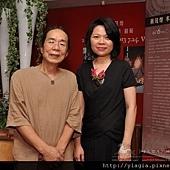 木藝與花藝示範表演-蔣茂煌老師與楊婷雅老師