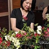木藝與花藝示範表演