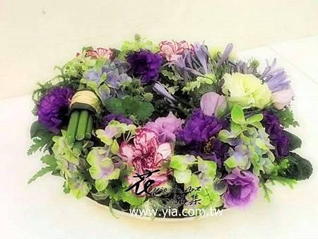 優雅紫的母親節花禮