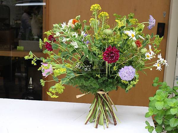 【多種多色的花束】