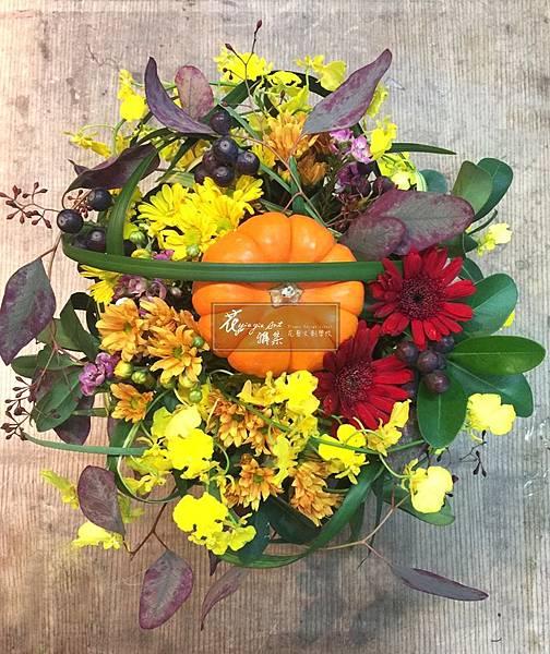萬聖節盆花