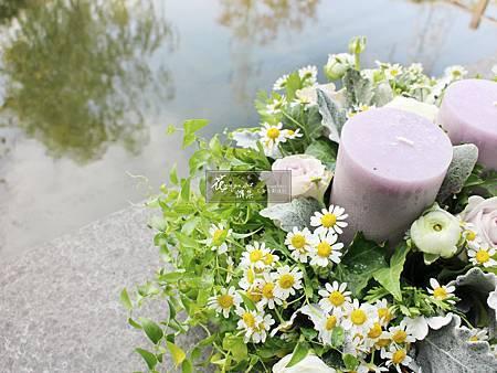 ‖浪漫晚餐‖ 燭光搖曳,鮮花嬌媚 莫蘭迪香氛氛圍中 你與我 靜靜的享受這溫馨浪漫的時刻 ----------------------- Designer|上海花雅集