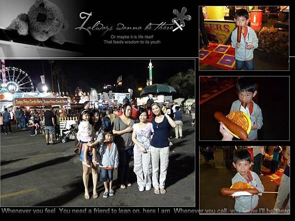 L.A County Fair & 老公Birthday!