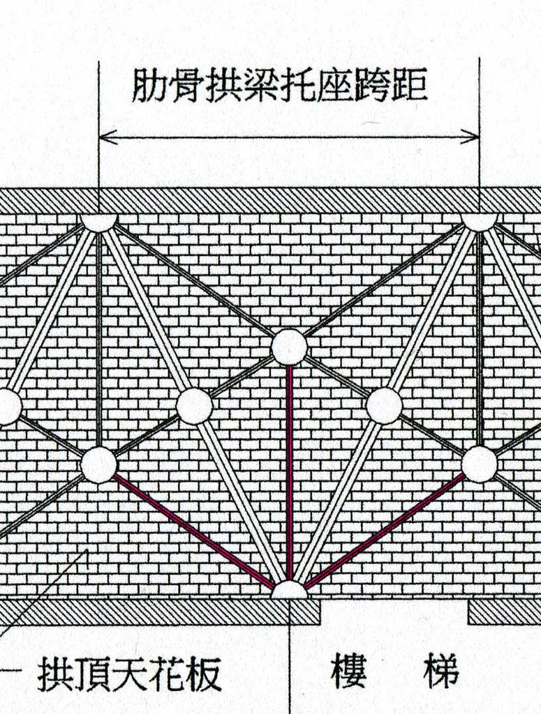 玄關天花板拱梁圖001-3