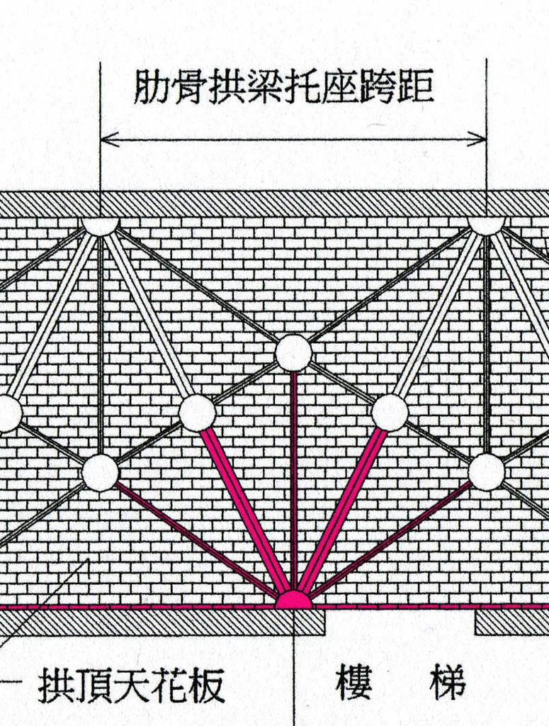 玄關天花板拱梁圖001-4