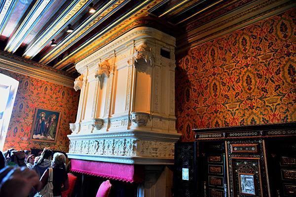 法國 香濃頌堡(法:Château de Chenonceau)(五) 弗朗索瓦一房