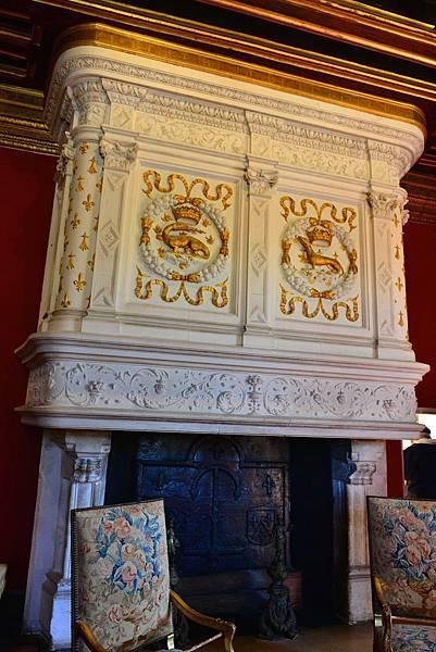 法國 香濃頌堡(法:Château de Chenonceau)(六)路易十四房間Louis XIV Living Room