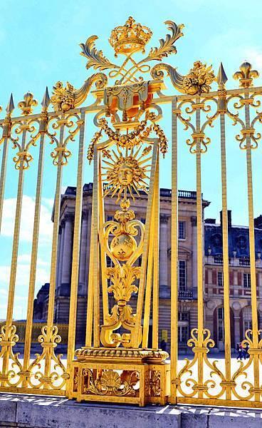 法國凡爾賽宮石材打造豪華的接待室梯間