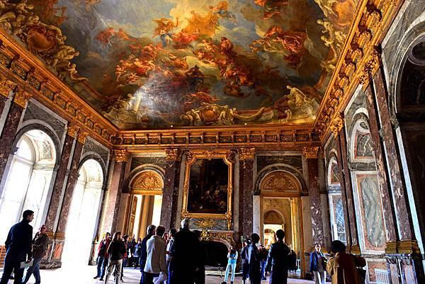 法國 凡爾賽宮 極盡奢華的巴洛克風格--海格力斯廳 Salon d'Hercule