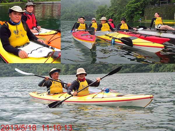 海洋獨木舟訓練1