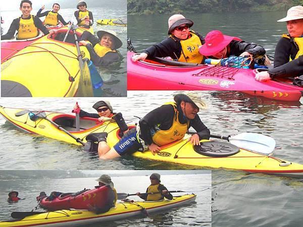 海洋獨木舟訓練3