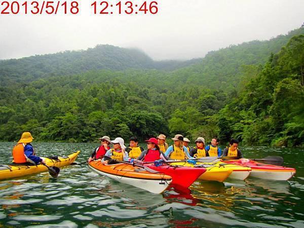 海洋獨木舟訓練4