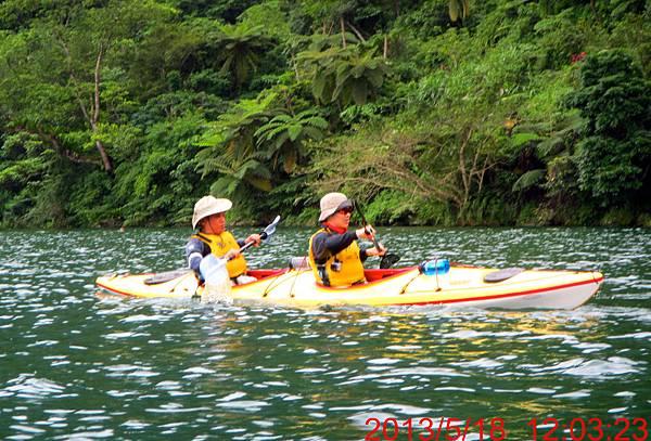 海洋獨木舟訓練5