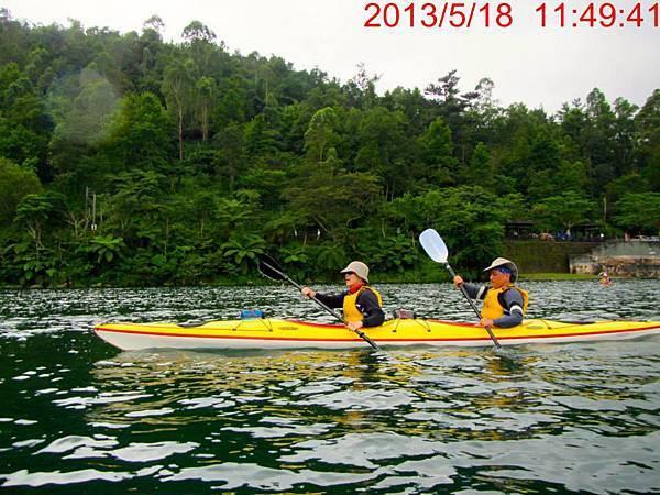 海洋獨木舟訓練7