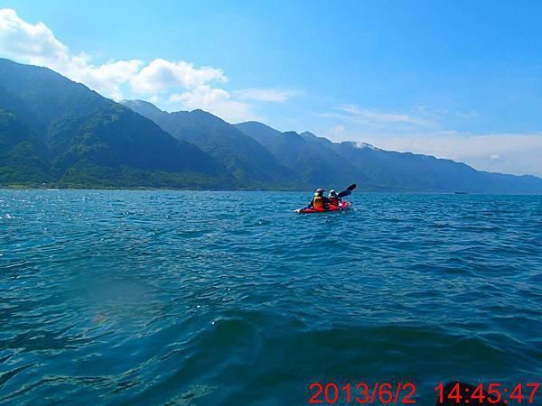 海洋獨木舟海上行4